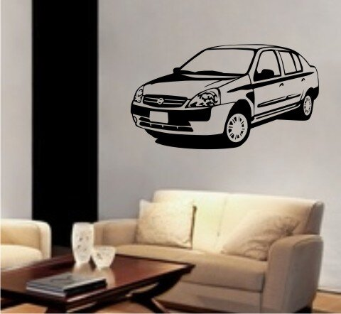 wandtattoo auto cars walltattoo mo05. Black Bedroom Furniture Sets. Home Design Ideas