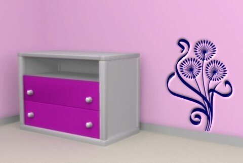 pusteblume wandtattoo tapeten deko. Black Bedroom Furniture Sets. Home Design Ideas