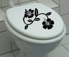 Aufkleber für Toilettendeckel