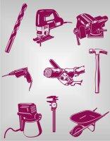 Werkzeug  Aufkleber