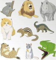 Tierwelt im Digitaldruck