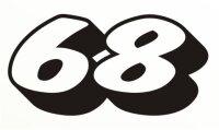 MO05 Startnummer Aufkleber, Rennnummer