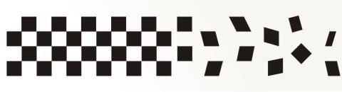 Racing Flagge Aufkleber MO25