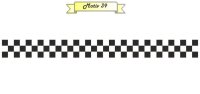 Racing Flagge Aufkleber MO39