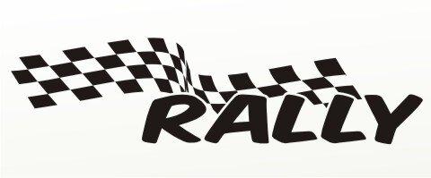 Racing Flagge Aufkleber MO86