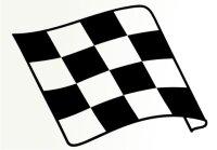 Racing Flagge Aufkleber MO77