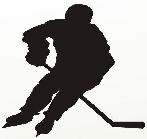 MO01 Eishockey Aufkleber Autoaufkleber