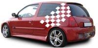 Racing Flagge, Flags, Fahne Aufkleber 120 x 53 cm