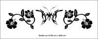 Schmetterling Wandtattoo Tapeten Deko