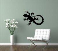 Gecko Wandtattoo Echse Wandaufkleber