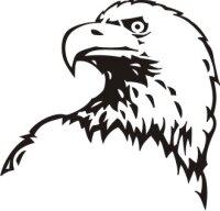 Adler Aufkleber Vogelaufkleber 01