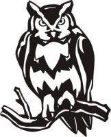 Eule Aufkleber, Vogelaufkleber Owl Sticker