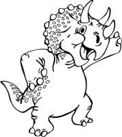 Dinosaurier 02  DH Aufkleber