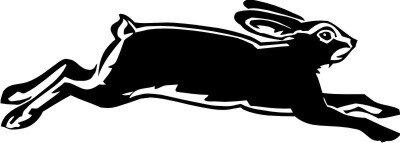 Hase Kaninchen Aufkleber