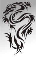 MO01 Drachen Aufkleber Drache Autoaufkleber Dragon Sticker