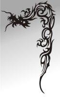 MO03 Drachen Aufkleber Drache Autoaufkleber Dragon Sticker