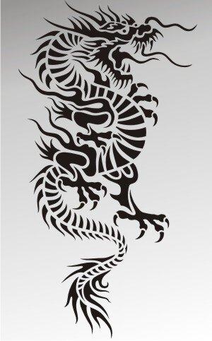 MO22 Drachen Aufkleber Drache Autoaufkleber Dragon Sticker