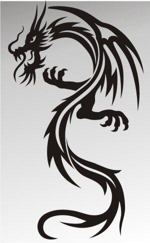 MO41 Drachen Aufkleber Drache Autoaufkleber Dragon Sticker