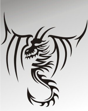 MO52 Drachen Aufkleber Drache Autoaufkleber Dragon Sticker