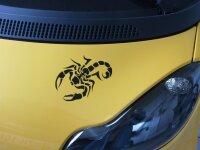 MO13 Skorpion Aufkleber Skorpionaufkleber Scorpion Sticker