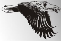 MO02 Adleraufkleber Eagle Autoaufkleber