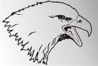 MO03 Adleraufkleber Eagle Autoaufkleber