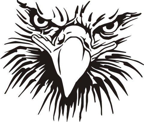 MO08 Adleraufkleber Eagle Autoaufkleber
