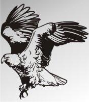 MO10 Adleraufkleber Eagle Autoaufkleber