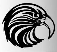 Adler Flammen Aufkleber MO08