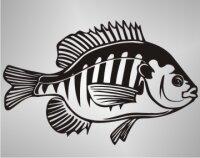 Bluegill Fisch Aufkleber Sticker Angeln