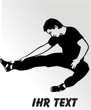 Karate Aufkleber Autoaufkleber mit Text MO09