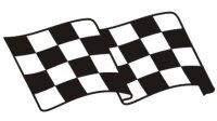 Racing Flagge Aufkleber MO08