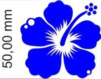 Hibiskus Blumen Aufkleber selbst gestalten MO06