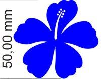 Hibiskus Blumen Aufkleber selbst gestalten MO01