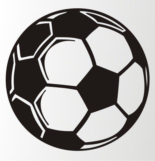 Fussball Wandtattoo Wandaufkleber