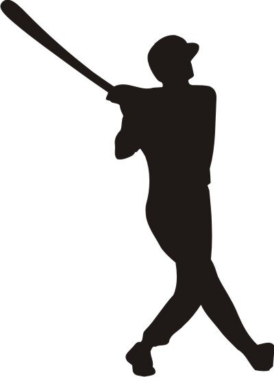 Baseball Wandtattoo Wandaufkleber MO02