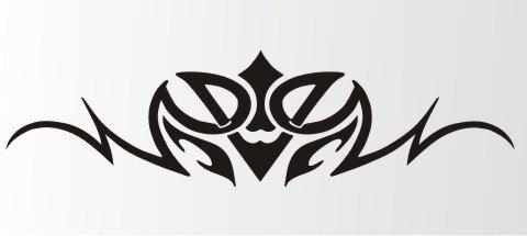 Tribal Aufkleber als Autoaufkleber Tattoos MO07