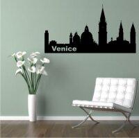 Wandtattoo Skyline Venedig