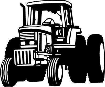Mo04 Trecker Wandtattoo Traktor Walltattoo Schlepper