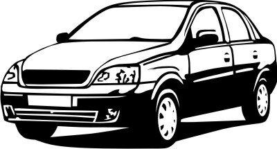 Wandtattoo Auto Cars Walltattoo MO01