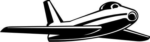 Jet Fighter Wandtattoo, Flugzeug Walltattoo MO03