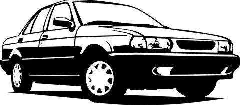 Wandtattoo Auto Cars Walltattoo MO07