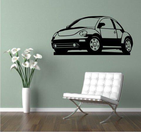 Wandtattoo VW Käfer