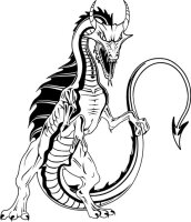 Dragon Aufkleber Drachenaufkleber, Autoaufkleber Dragon...