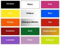 Farbmuster Aufkleber Folie