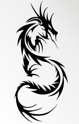 mo59 drachen aufkleber drache autoaufkleber dragon sticker. Black Bedroom Furniture Sets. Home Design Ideas