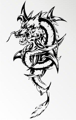 mo60 drachen aufkleber drache autoaufkleber dragon sticker. Black Bedroom Furniture Sets. Home Design Ideas