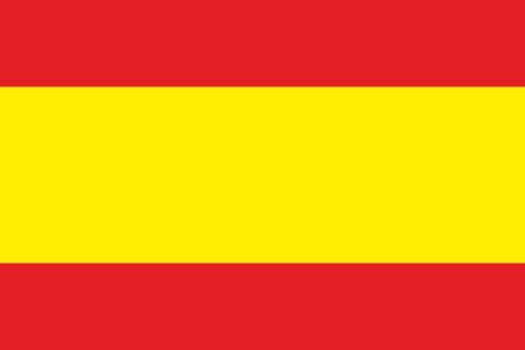Aufkleber Landesfahne Flagge Spanien fürs Auto