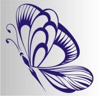 Schmetterling Aufkleber MO03