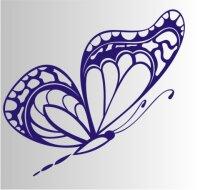 Schmetterling Aufkleber MO05
